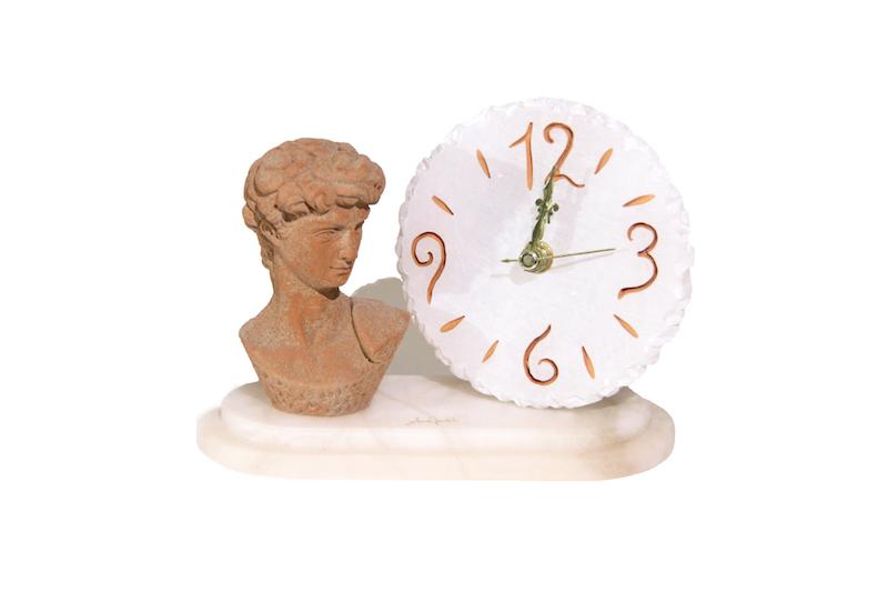 Orologio testa di Davide