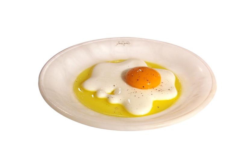 Piatto uovo fritto